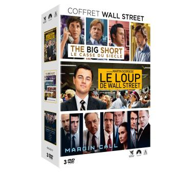 Coffret Wall Street 3 films DVD