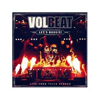 Let's Boogie ! Live From Telia Parken Coffret Digipack Edition Limitée Inclus Blu-ray