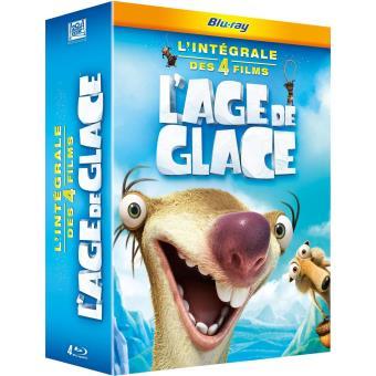 L'âge de glaceL'âge de glace Coffret 4 films Edition spéciale Fnac Blu-ray