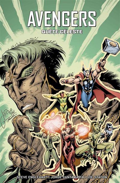 Avengers : Quête céleste - 9782809498820 - 16,99 €