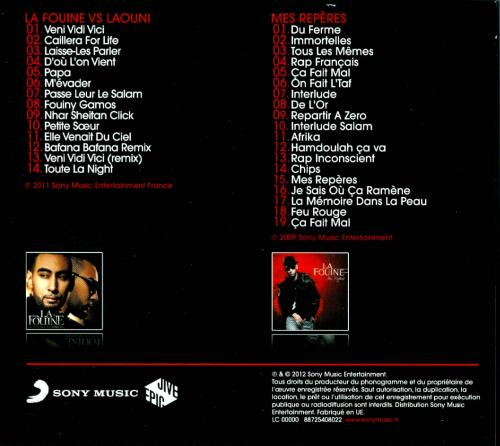 album la fouine vs laouni cd1