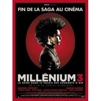 MilléniumMillénium 3 : La Reine dans le palais des courants d'air DVD
