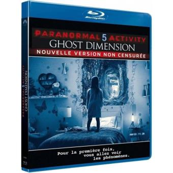 Paranormal activityParanormal activity 5 : Ghost dimension Blu-ray