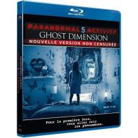 Paranormal activity 5 : Ghost dimension Blu-ray
