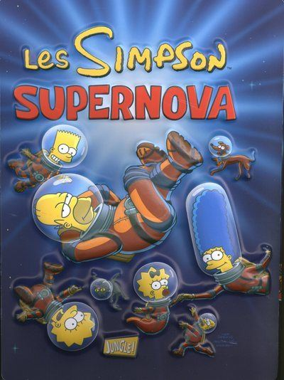Les Simpson - tome 25 Supernova - Edition collector