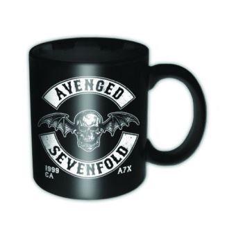 AVENGED SEVENFOLD-MUG 315 ML-DEATH BAT CREST