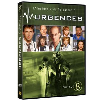 UrgencesUrgences Coffret intégral de la Saison 8 - DVD