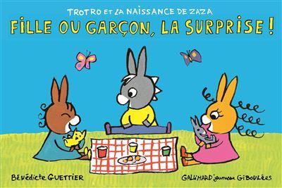 Trotro et la naissance de Zaza : Fille ou garçon, la surprise !