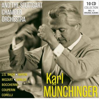 AND THE STUTTGART CHAMBER ORCHESTRA/10CD