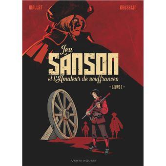 Une nouvelle BD sur les Samson: Les Samson et l'amateur de souffrances Les-Sanson-et-l-amateur-de-souffrances