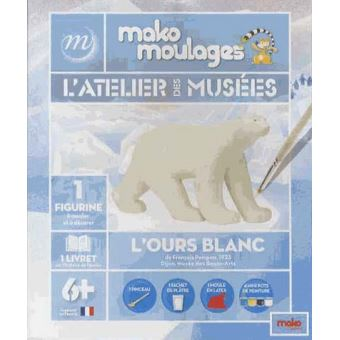 Mako moulages l'ours blanc
