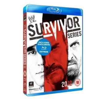 WWE Survivor Series 2012 Blu-ray