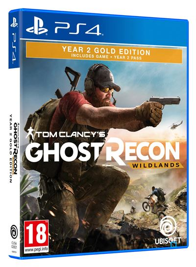 Tom Clancy's Ghost Recon Wildlands Year 2 Gold Edition PS4