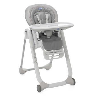 Chaise haute chicco polly progres5 stone gris produits b b s fnac - Prix chaise haute chicco ...