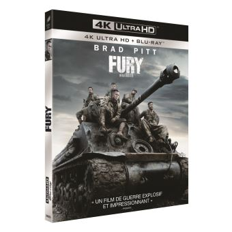 Fury Blu-ray 4K Ultra HD