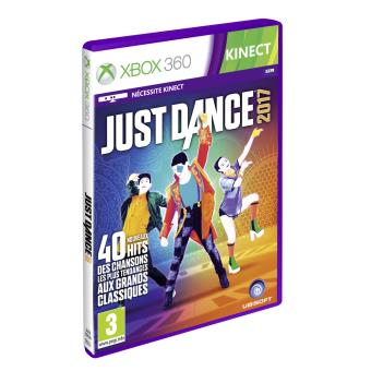 just dance 2017 xbox 360 sur xbox 360 jeux vid o achat prix fnac. Black Bedroom Furniture Sets. Home Design Ideas