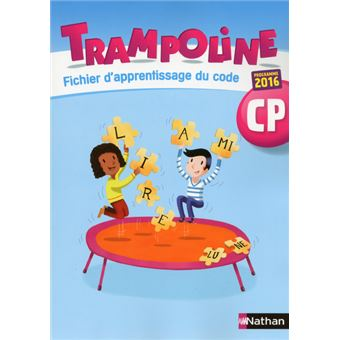 trampoline cp fichier d 39 apprentissage du code workbook. Black Bedroom Furniture Sets. Home Design Ideas