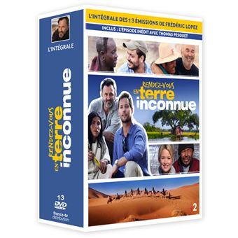 Rendez-vous en Terre inconnueCoffret Rendez-vous en terre inconnue L'intégrale DVD