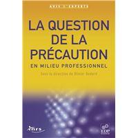 La question de la précaution en milieu professionnel