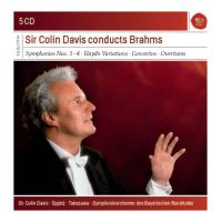 Sir Colin Davis conducts Brahms Coffret