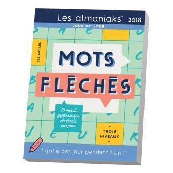 Calendrier almaniak mots fl ch s 2018 une grille par jour pendant un an broch rci - Mots croises grille quotidienne ...