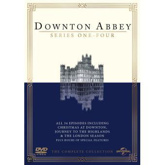 Downton AbbeyCoffret intégral de la Saison 1 à 4 DVD