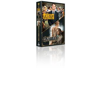 Gatsby le magnifique, Le loup de Wall Street Coffret DVD