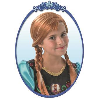 Perruque de la Princesse Anna Frozen La Reine des Neiges Rubie's