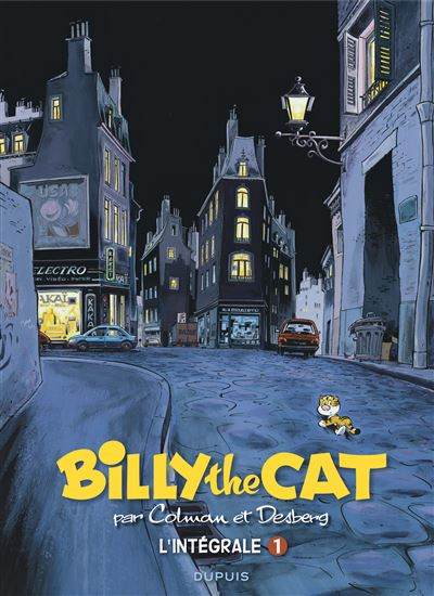 BILLY the CAT - L'intégrale - Billy the Cat intégrale 1 : 1981-1993