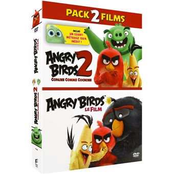 Angry BirdsCoffret Angry Birds et Angry Birds 2 : Copains comme cochons DVD