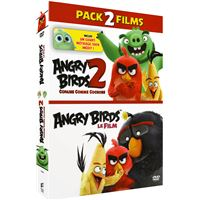 Coffret Angry Birds et Angry Birds 2 : Copains comme cochons DVD