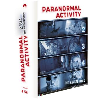 Paranormal activityCoffret Paranormal activity 4 films DVD