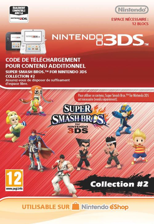 Code de téléchargement Super Smash Bros. Collection #2 Nintendo 3DS