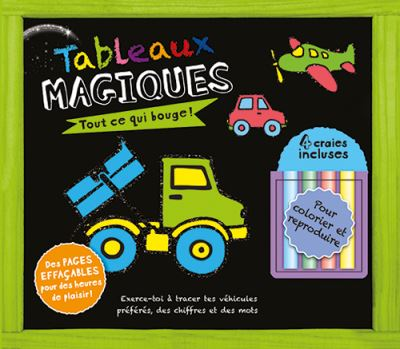 Tableau magique : Tout ce qui bouge - Collectif (Auteur)