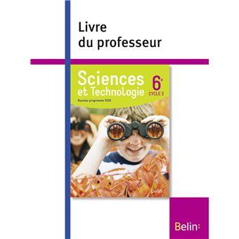 Sciences et technologie 6ème