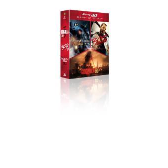 Godzilla, la trilogieGodzilla, Pacific Rim, 300  la naissance d'un empire Coffret Blu-Ray 3D 2D