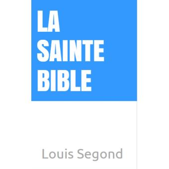 Louis francais ebook segond bible la telecharger en