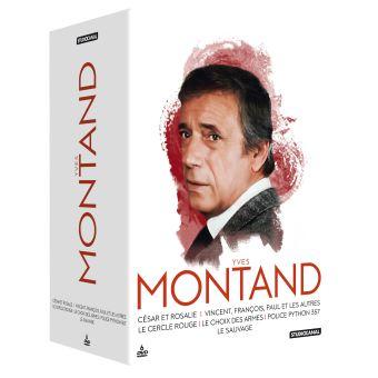 Coffret Yves Montand 6 Films DVD