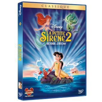La Petite SirèneLa Petite sirène 2 : Retour à l'Océan DVD