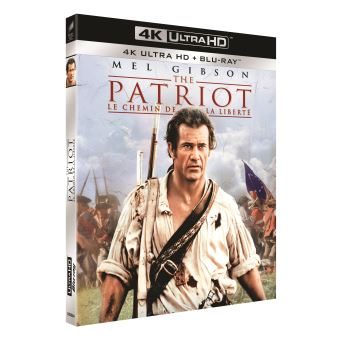 The Patriot Le chemin de la liberté Blu-ray 4K Ultra HD