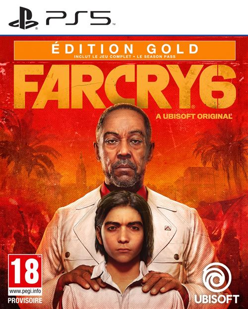 Far Cry 6 Edition Gold PS5