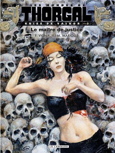 Kriss de Valnor - Tome 8 - Le maître de justice - 9782803673476 - 5,99 €