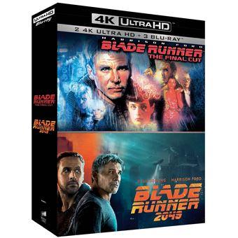 Blade runnerCoffret Blade Runner The Final Cut et Blade Runner 2049 Edition Limitée Blu-ray 4K Ultra HD