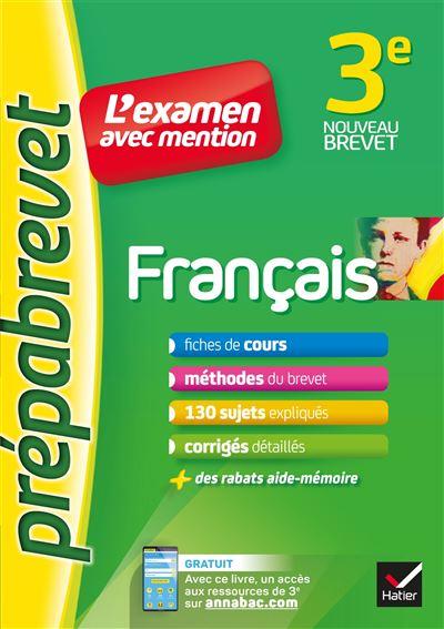 Prépabrevet  Français 3ème L'examen avec mention