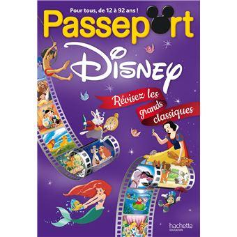 Passeport Disney Revisez Les Grands Classiques Cahiers De Vacances 2019