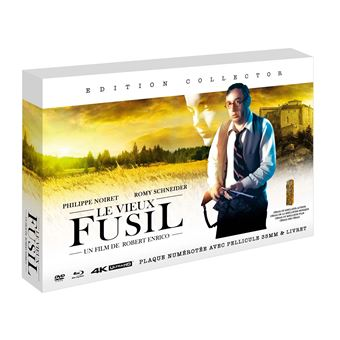 Le vieux fusil Edition Collector Combo Blu-ray 4K + Blu-ray + DVD