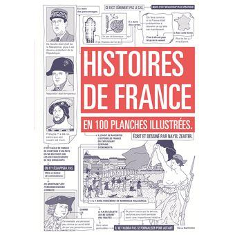 Histoires De France En 100 Planches Illustrees