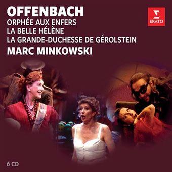 Offenbach : Orphée aux Enfers La Belle Hélène La Grande-Duchesse de Gérolstein