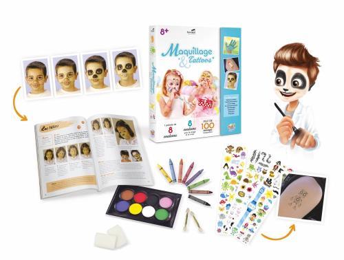Coffret Maquillage et Tattoos Buki France