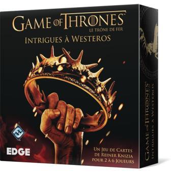 Le trône de fer : Intrigues à Westeros Asmodée